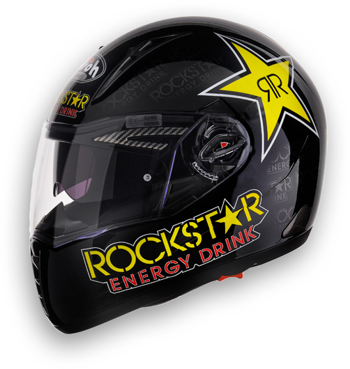 Airoh Pit One XR Rockstar full face helmet