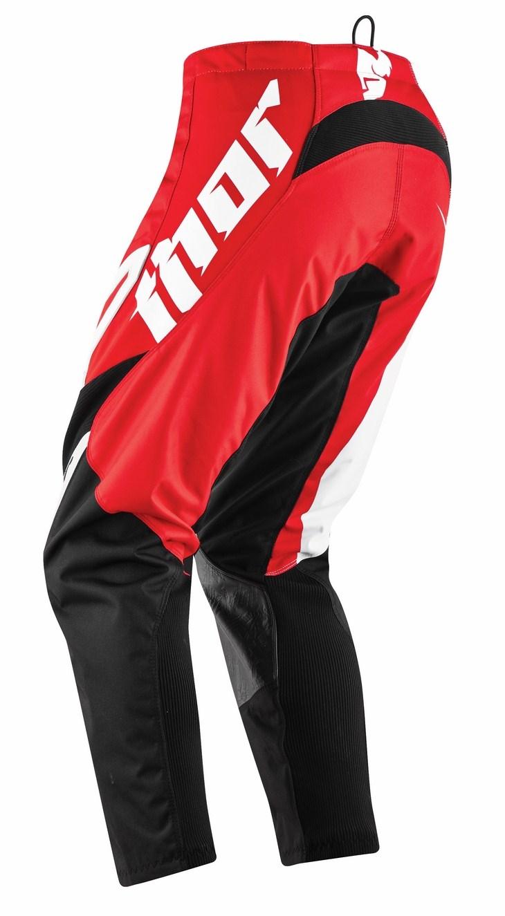 Pantaloni Cross bambino Thor Phase Tilt rossi