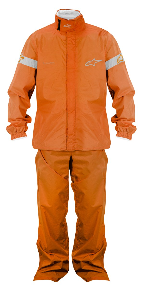 Alpinestars Quick Seal Out divisible rainsuit orange