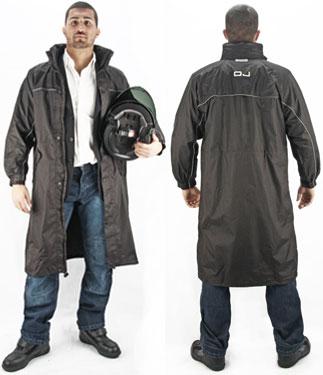 Oj Over waterproof jacket black