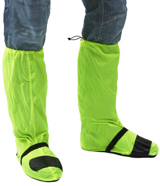 Oj Compact and Fluo boot cover yellow