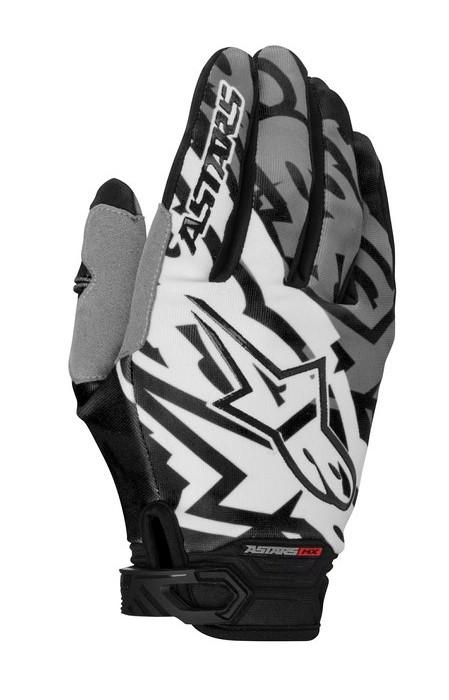 Alpinestars Racer 2014 offroad gloves gray black
