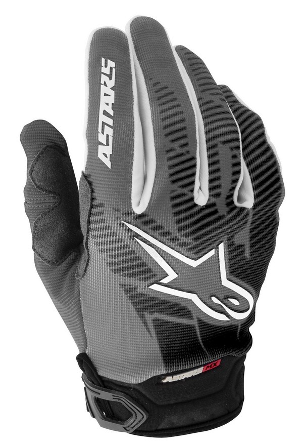 Alpinestars Racer Youth gloves grey black