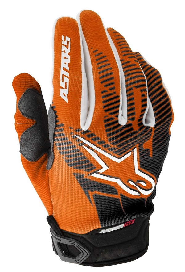 Alpinestars Racer off-road gloves orange black