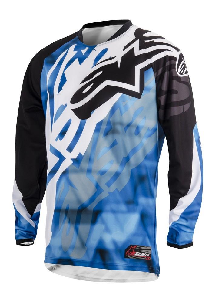 Alpinestars Racer 2014 offroad jersey blue black