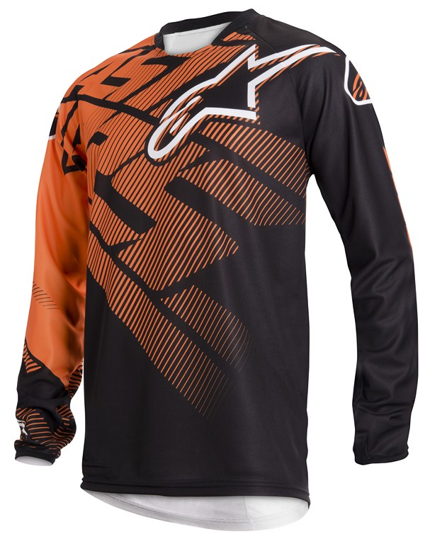 Alpinestars Racer off-road jersey orange black