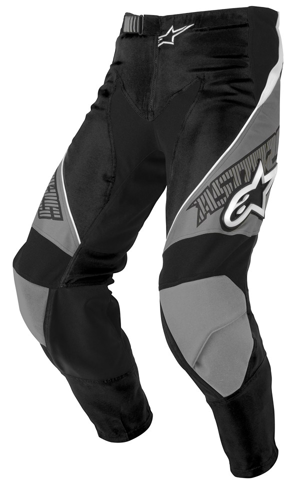 Alpinestars Racer Youth pants grey black