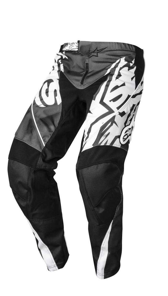Alpinestars Racer 2014 offroad pants gray black