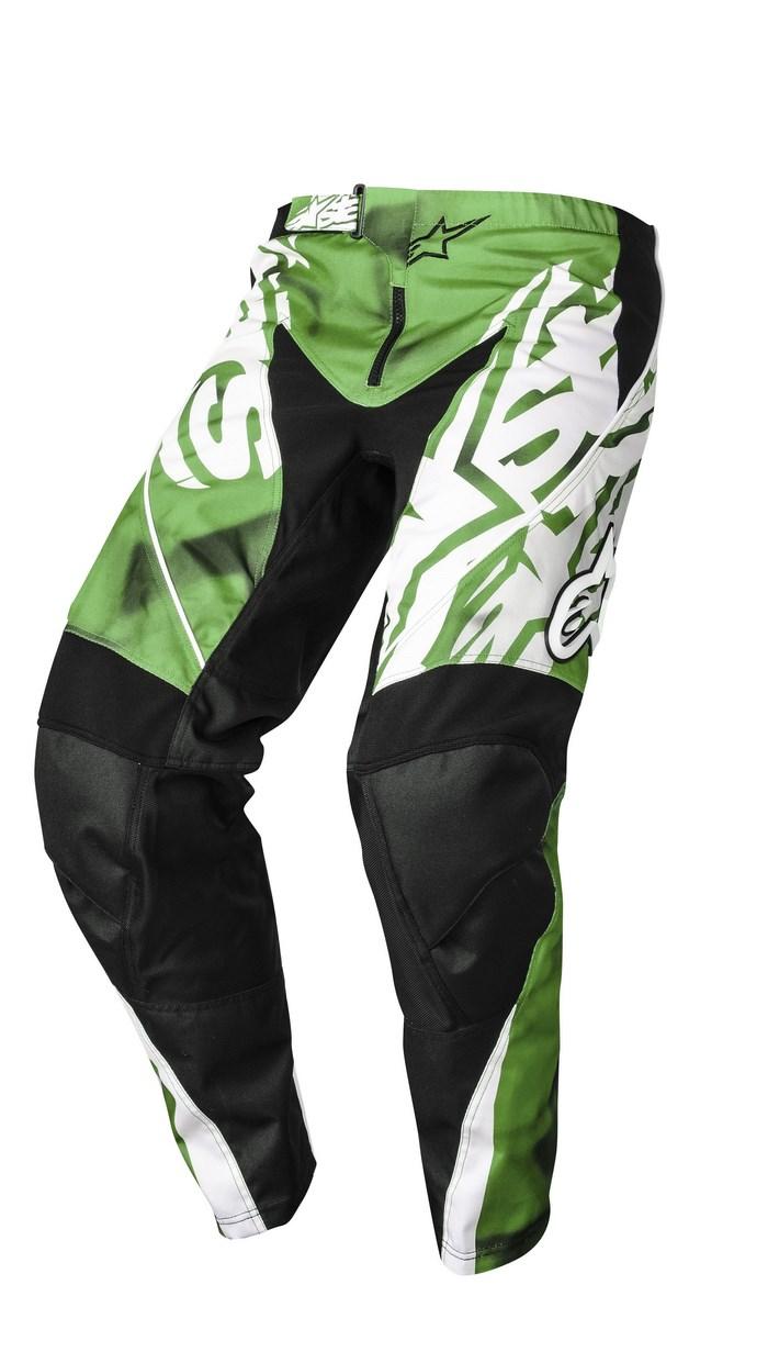 Pantaloni cross Alpinestars Racer 2014 verde nero