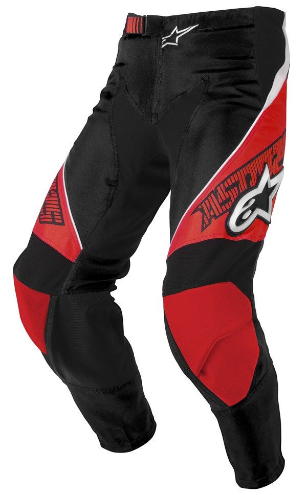 Alpinestars Racer Youth pants red black