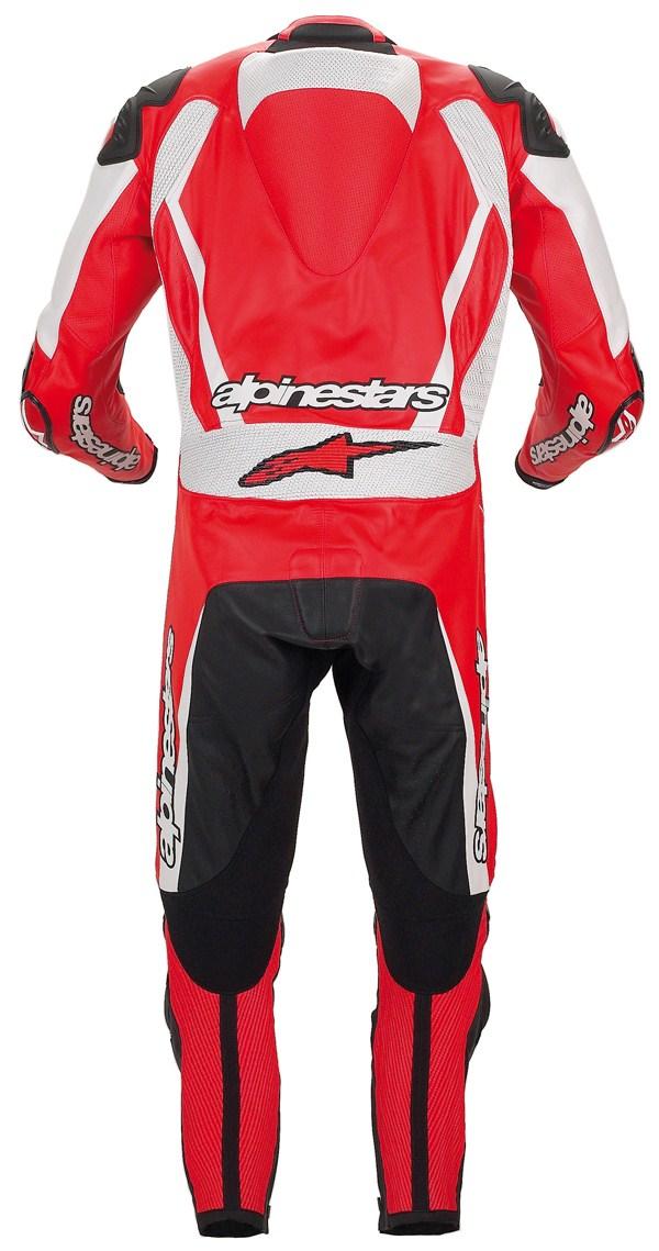 Alpinestars Racing Replica leather suit red