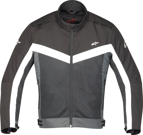 Giacca moto Alpinestars Radon Air nera-grigio scuro