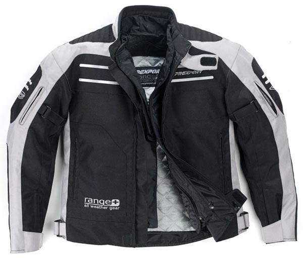 Prexport Range 3 layer waterproof jacket Black Grey