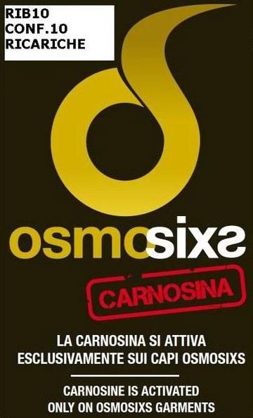 Confezione 10 ricariche Sixs Osmosixs