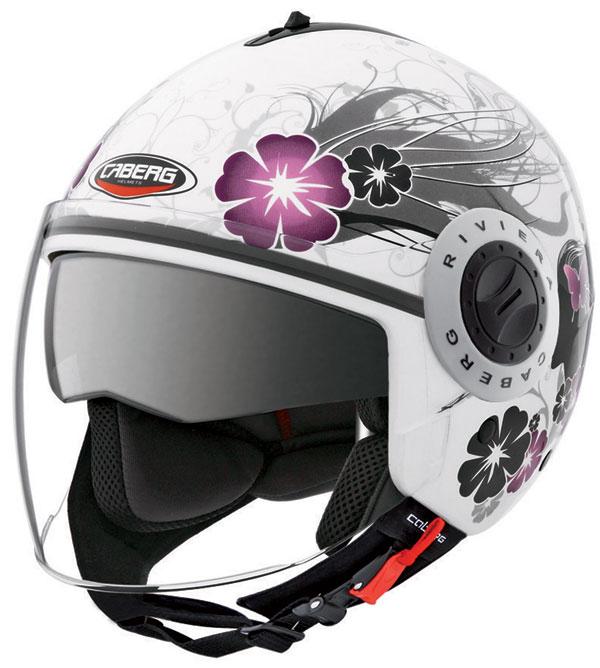 Caberg Riviera V2+ jet helmet Diva