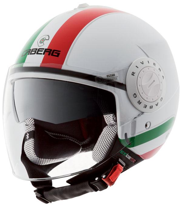 Caberg Riviera V2+ jet helmet Italy