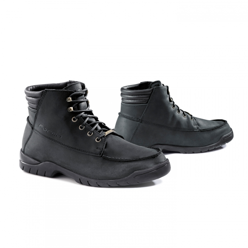 Motorcycle Leather Shoes Forma Black Freeride
