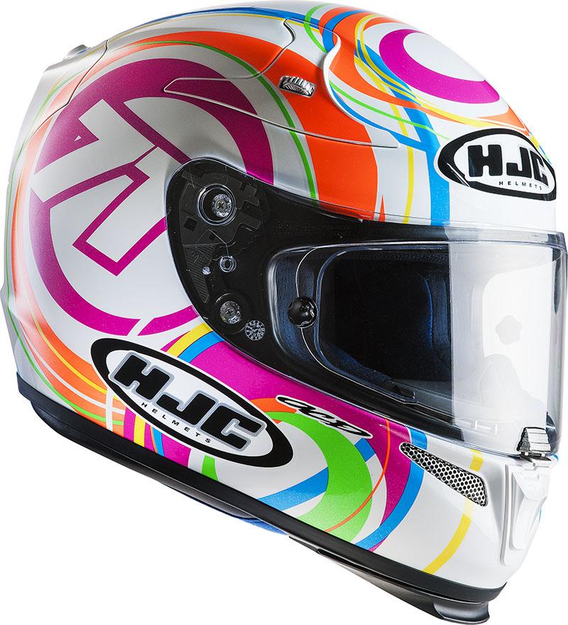 Full face helmet HJC RPHA 10 Plus Seventy One MC10