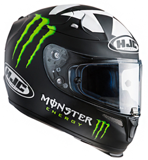 Full face helmet HJC RPHA 10 Plus II Ben Spies Rep MC5F
