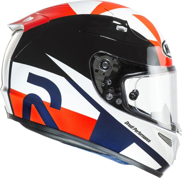HJC RPHA 10 Plus Ben Spies Replica Austin MC1 full face helmet
