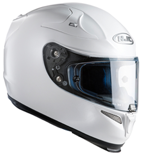 Full face helmet HJC RPHA 10 Plus Pearl White Ryan