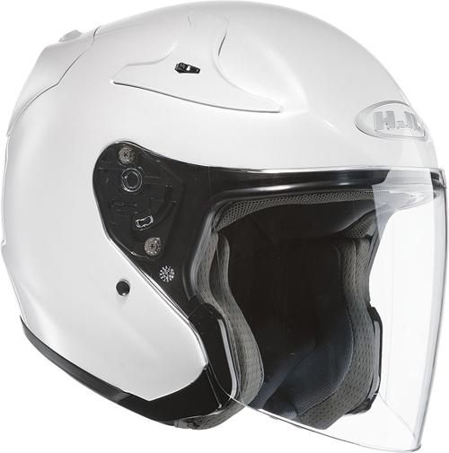 HJC helmet RPHA JET Pearl White Ryan