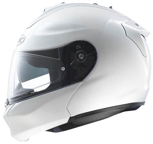 HJC RPHA-MAX flip off helmet Pearl White