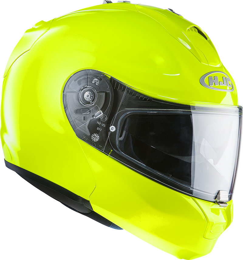 Modular helmet HJC RPHA MAX Fluo Green