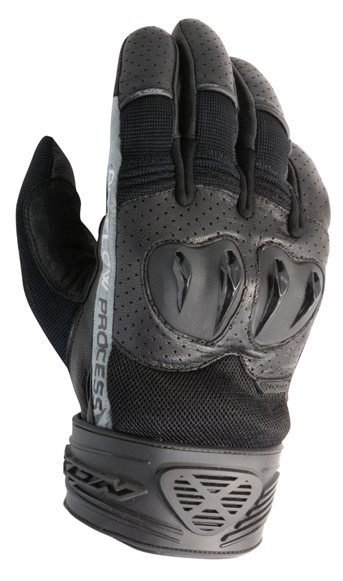 Ixon RS Flip HP leather summer gloves black