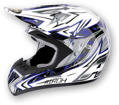 Airoh Runner Spartan Off-Road helmet col. blue*