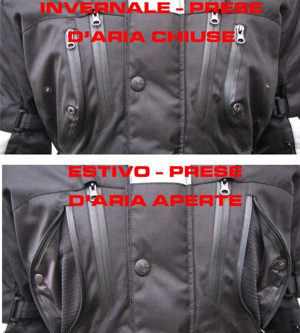 Giudici Master tour 3 layer jacket White Black