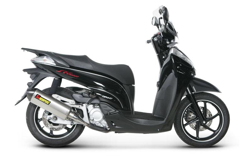 Silenziatore Akrapovic Honda SH 300 Street Legal Titanio