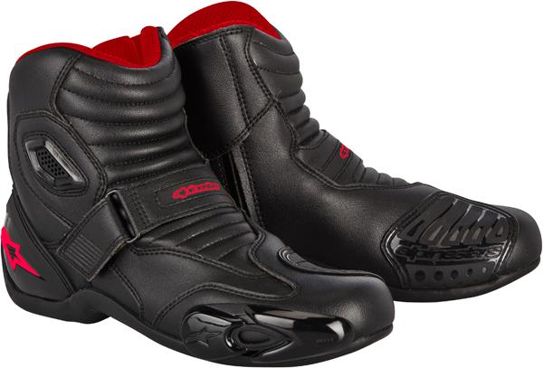ALPINESTARS SMX 1.1 riding boots black-red