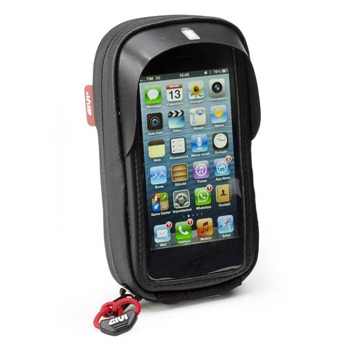 Porta smartphone da manubrio Givi