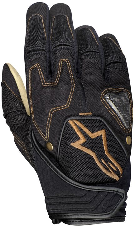 Alpinestars Scheme kevlar denim gloves black