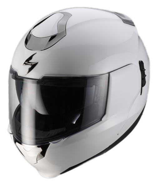 Casco moto modulare Scorpion EXO 900 AIR Bianco