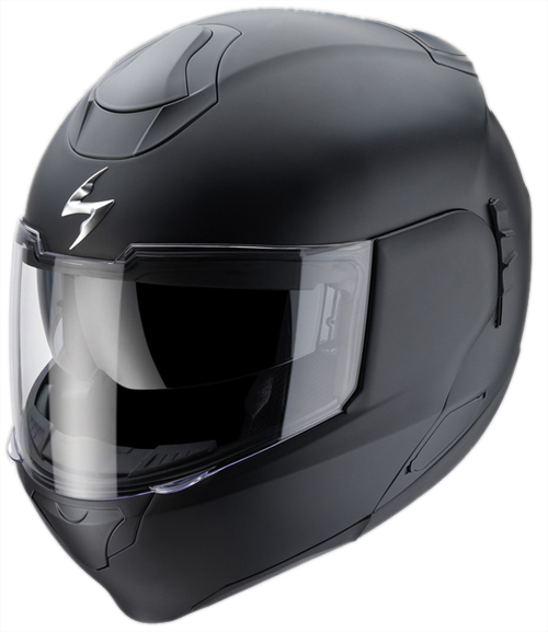 Casco moto modulare Scorpion EXO 900 AIR Nero Opaco