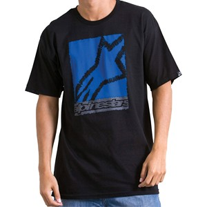 T-shirt Alpinestars bambino Scribble Box nera