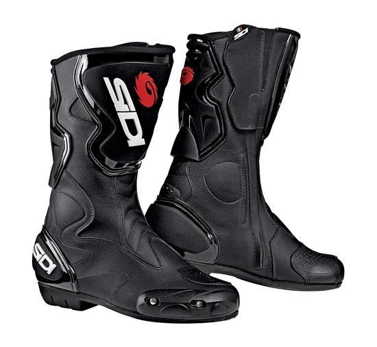 Stivali moto Racing Sidi Fusion neri