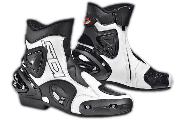 Sidi Apex touring boots black-white