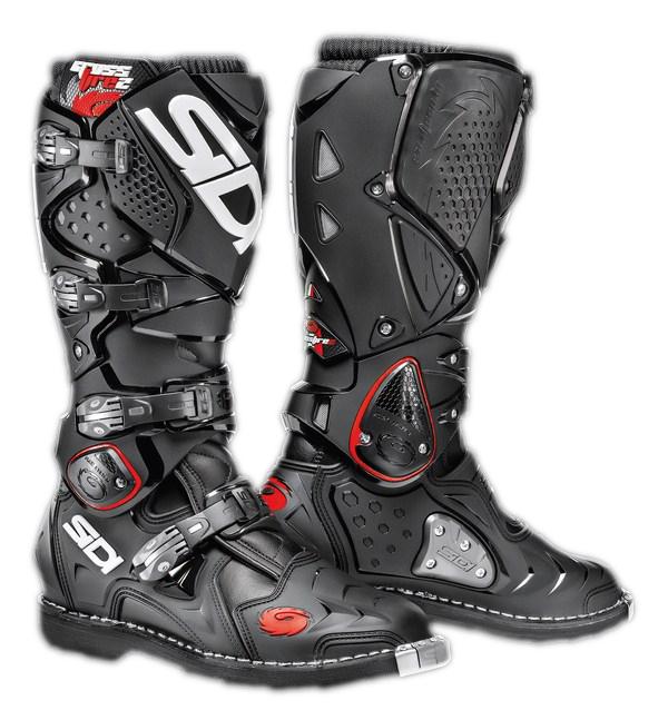 Sidi Crossfire 2 offroad boots black-black
