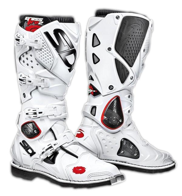 Sidi Crossfire 2 offroad boots white white