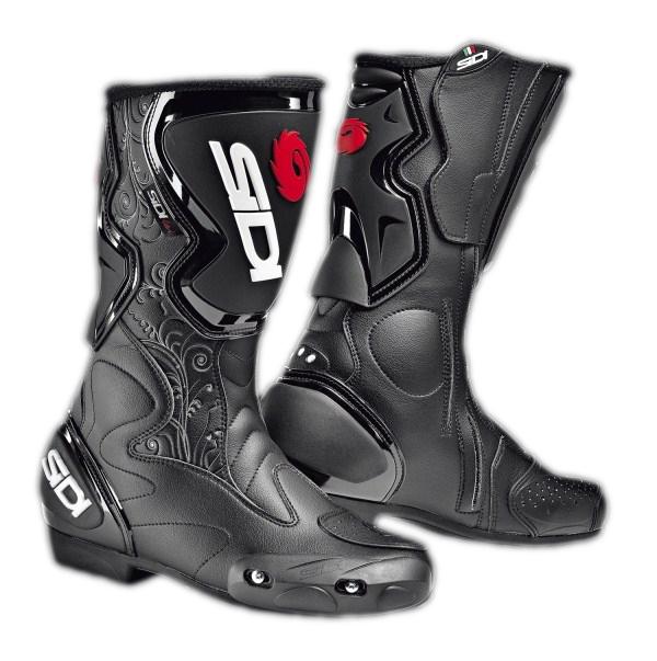 Sidi Fusion Lei women racing boots black-black