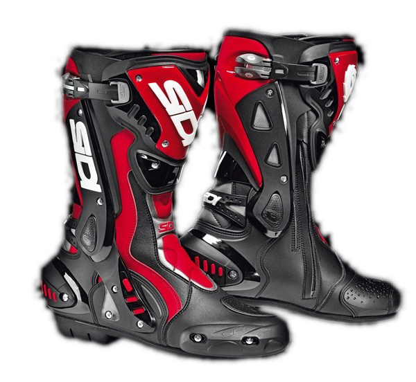 Sidi ST racing boots black-red