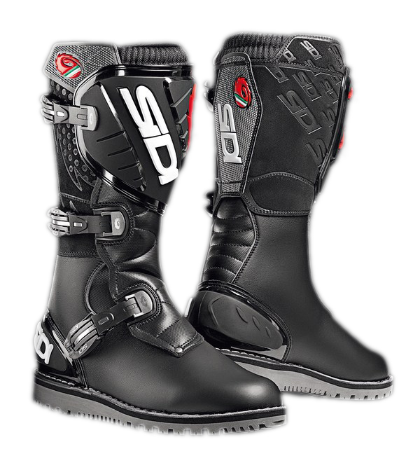 Sidi Trial Zero boots black