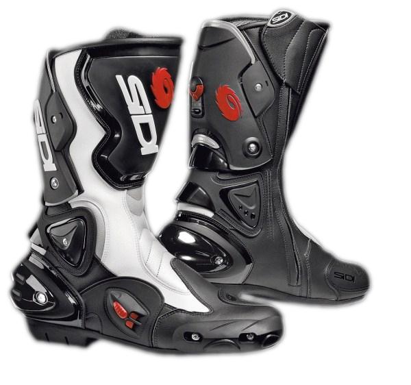 Sidi ST Vertigo racing boots black-white