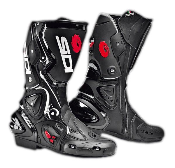 Stivali moto racing donna Sidi Vertigo Lei nero bianco