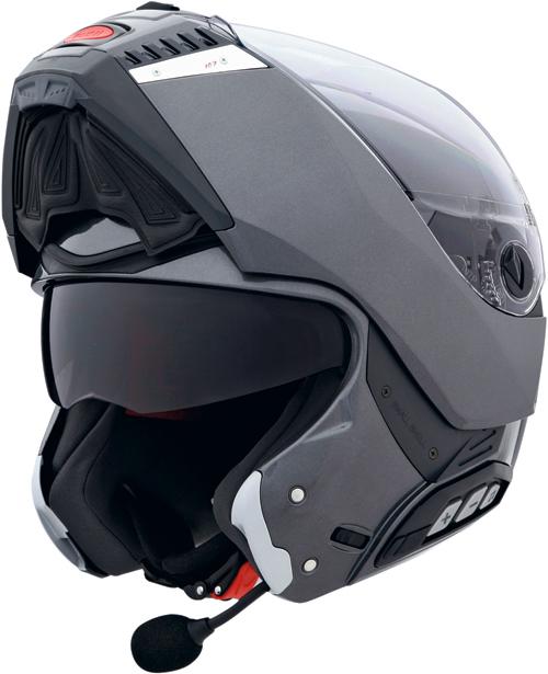 xCABERG Sintesi flip-up helmet col. gunmetal