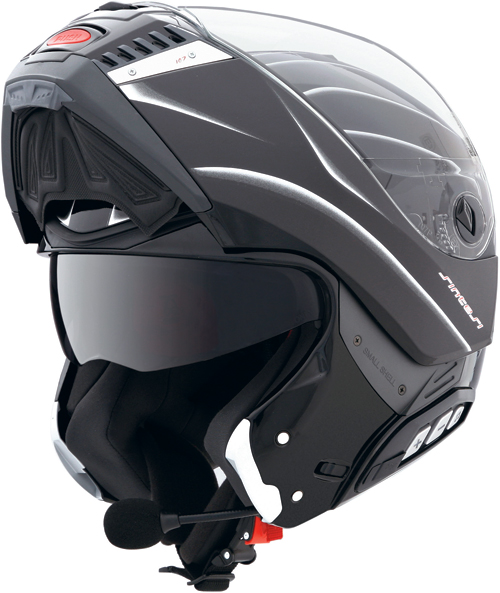 CABERG Sintesi Shadow flip-up helmet