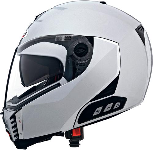 CABERG Sintesi flip-up helmet col. silver